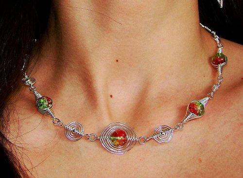 Vesmírna žiara, náhrdelník