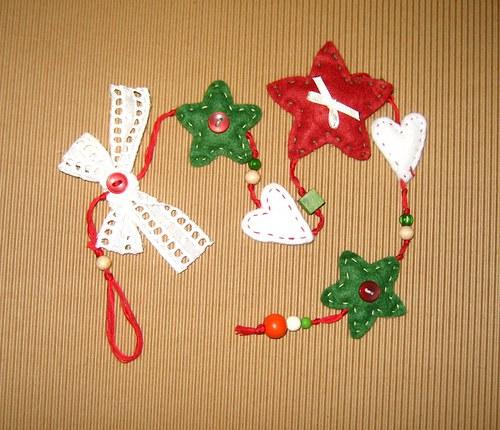 vánoční dekorace zelená