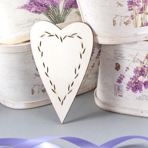 Velké srdce z Provence