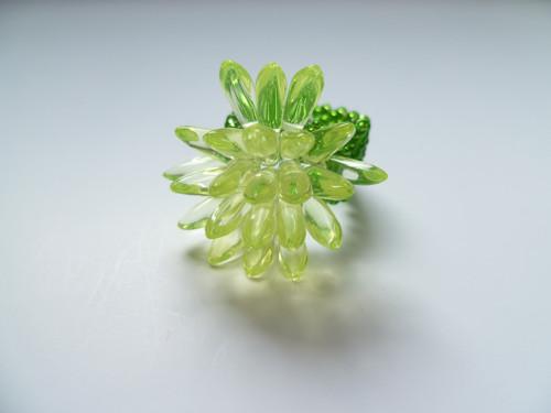 Prstýnek zelenožlutý