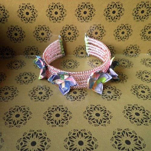 origami náramek