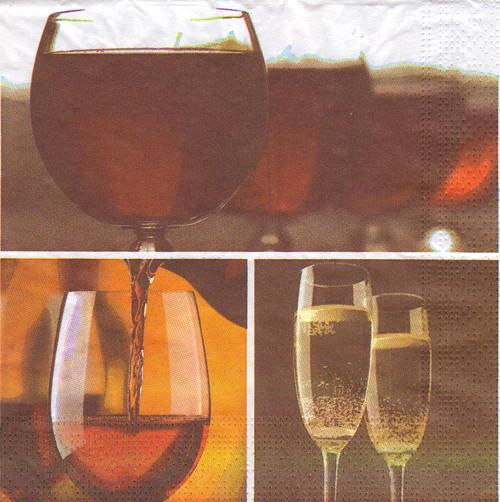 Ubrousek - víno (3 ks - VÝPRODEJ)