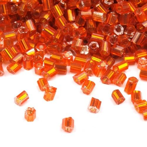 Akce - Rokajl skleněný sekaný oranžový - 10 g