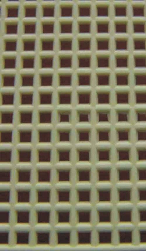 Plastová kanava I - světle žlutá