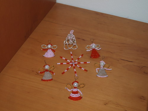 Vánoční sada  7 ozdůbek