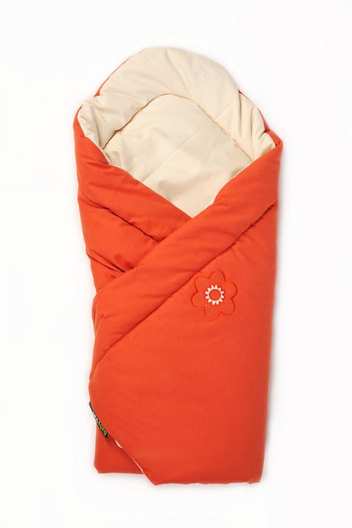 Zavinovačka oranžová s ovčí vlnou