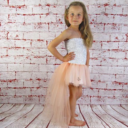Silver Elegance - Dětské luxusní šatičky