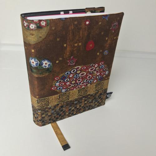 Nastavitelný obal na knihu - Gustav Klimt