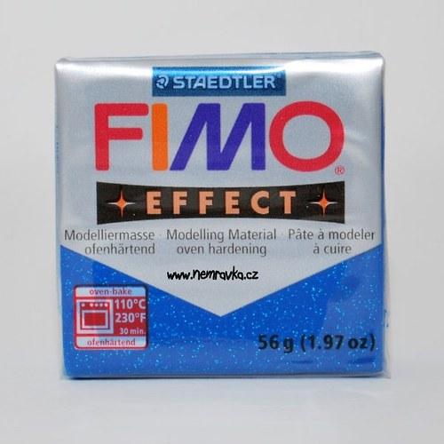FIMO Effect / Glitter modrá (302)
