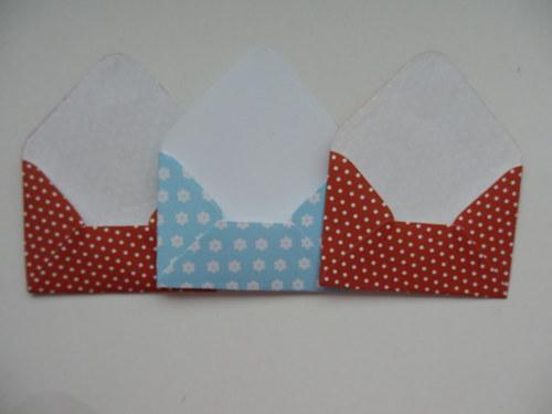 malé obálky na přáníčka set č. 4.
