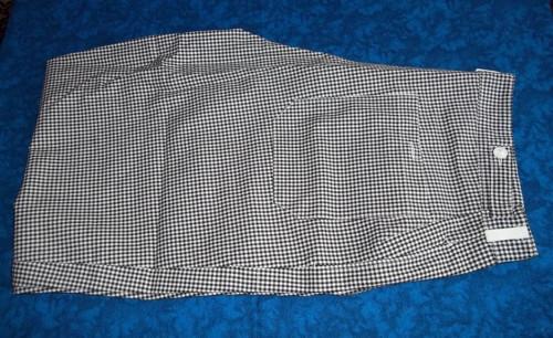 Na přešití č. 8, černobílé pepito - kalhoty