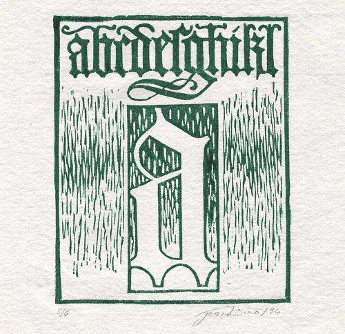 Gotická písmena