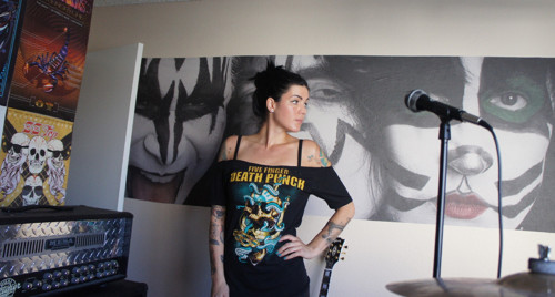 Five Finger Dead punch koncertni tricko punk rock