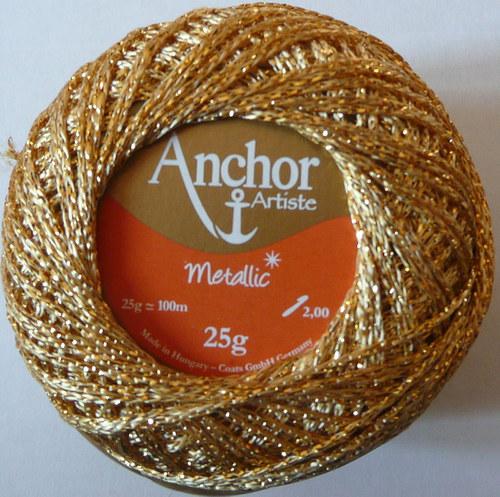 Anchor Artiste Metallic - zlatá