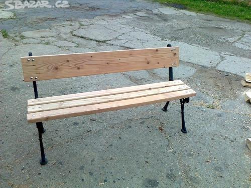 lavička zahradní - pohodová