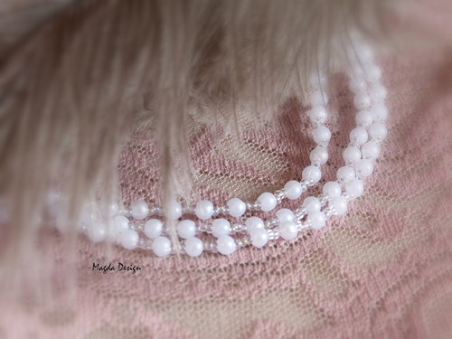 Jemný náramek s perličkami