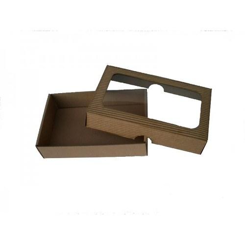 dárková krabička s okýnkem