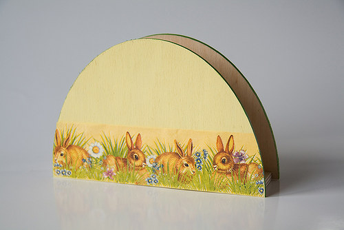 Velikonoční stojánek na ubrousky