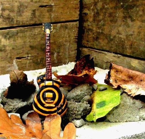 Kytara Gibson LP Zakk Wylde Gold-black