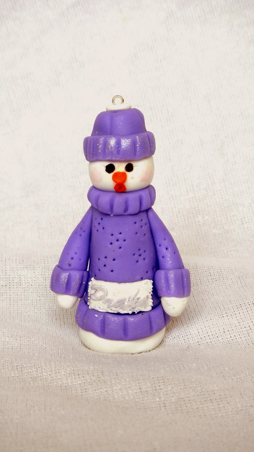 Hračka Snehulak
