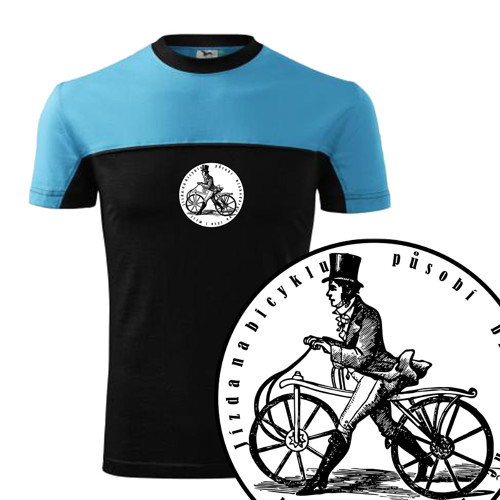 Cyklista    (pánské tričko M)