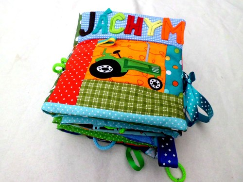 Didaktická knížka Toulavé autíčko pro Jáchyma