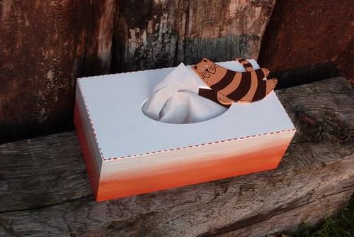 Krabička na kapesníčky MŇOUKALKA