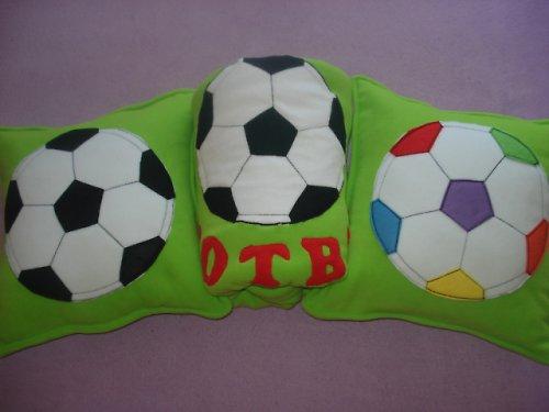 Deka fotbal s polštářky