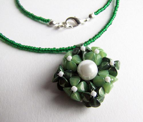 Pohankový náhrdelník