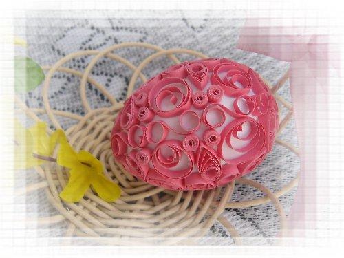 velikonoční vajíčko růžové