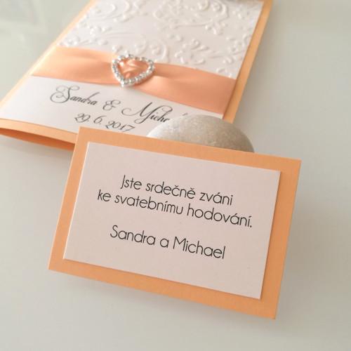 kartičky ke svatebnímu oznámení_meruňkové