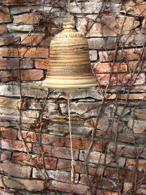 Zvon kameninový velký (cca 23cm)