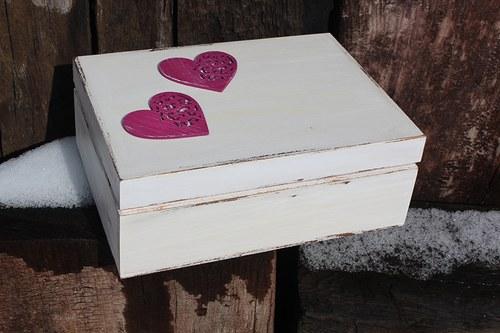 SVATEBNÍ dřevěná krabička