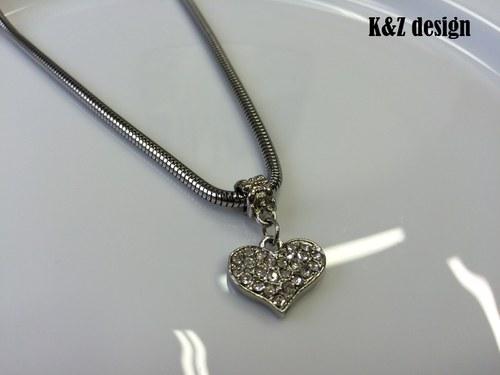 Náhrdelník Se srdcem na dlani