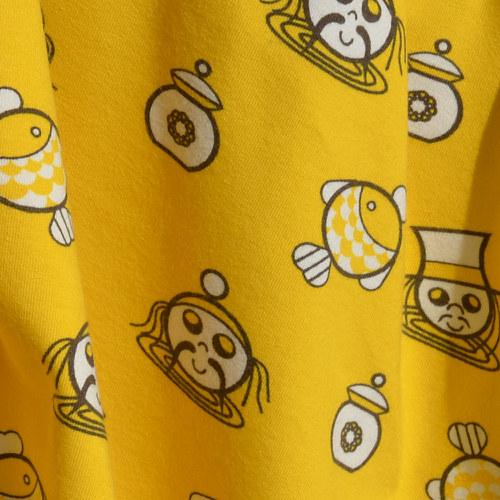 elastický úplet - vodnící žlutí.