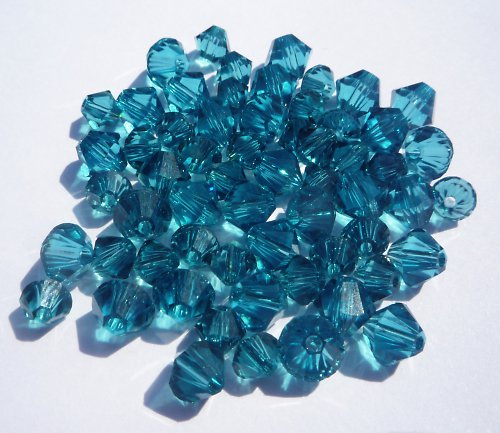 SW sluníčka modrá 4 mm (5 ks)