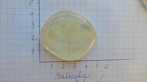 Kalcit žlutý KZ16 (4,2x3,9x1cm)