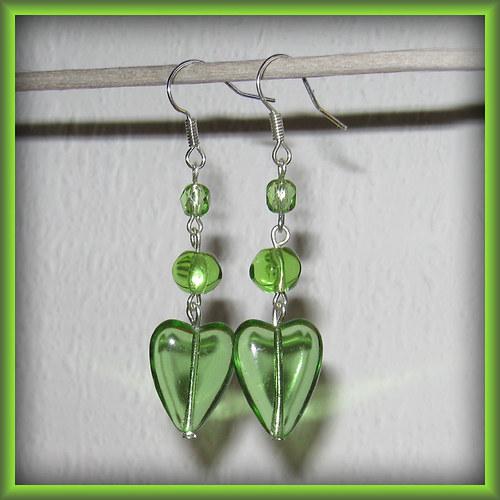 Zelená srdcata