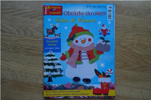 Obrázky do oken Zima & Vánoce  (Diana) č.11