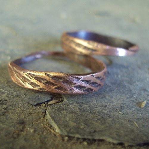 Prsten Pilník- měděný