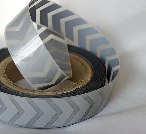 Nažehlovací reflexní páska - ŠIPKY