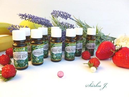 CEDROVÉ DŘEVO - 100% přírodní esenciální olej