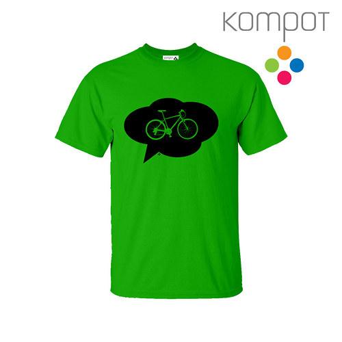 Pánské tričko s KOLEM :: zelené vel. S-XL