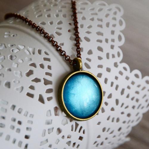 Oblaka...-náhrdelník