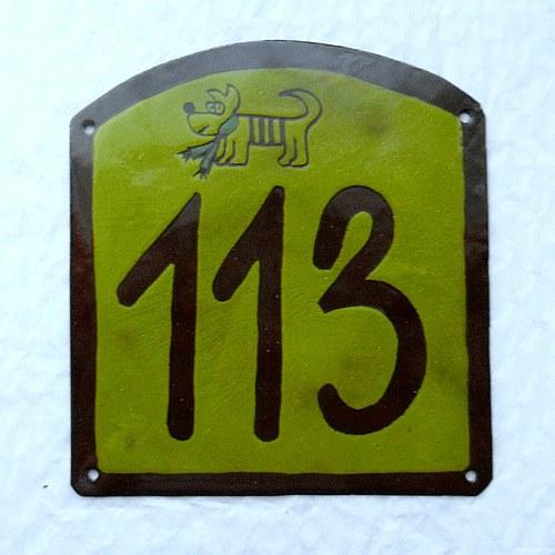 Číslo popisné