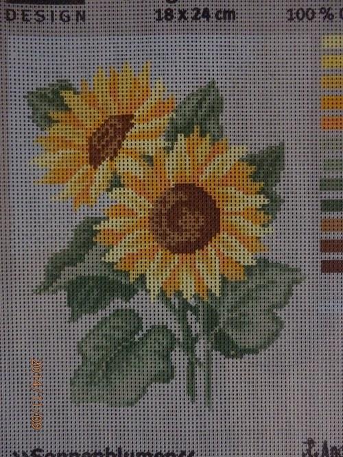 Předloha na vyšívání 18 x 24 cm