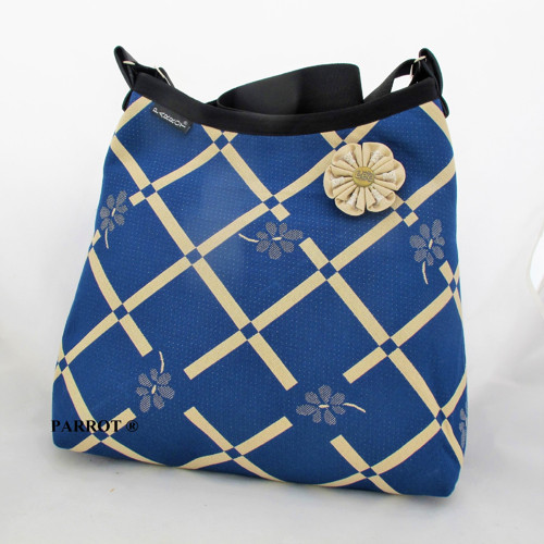RETRO FLOWER BAG *** BLUE *** PARROT®