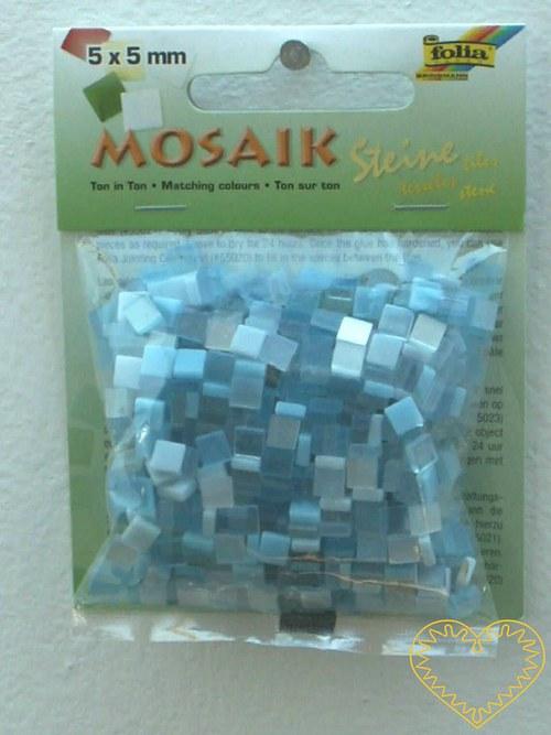 Pryskyřicová mozaika - modrý mix - 45 g