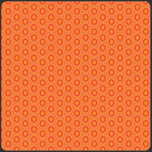 Látka Oval Elements Tangerine Tango 928