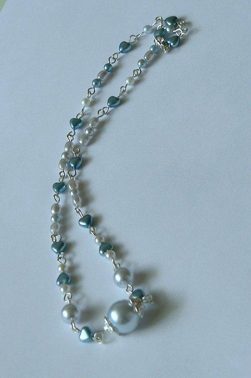 náhrdelník srdíčkový
